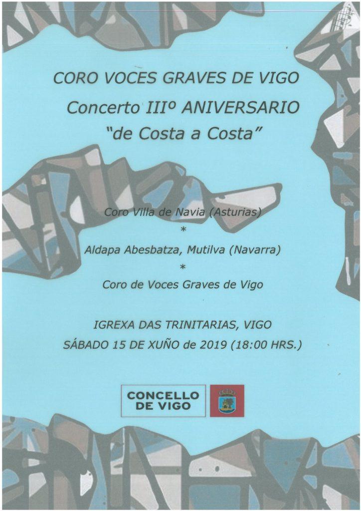 Cartel Concierto vitgo 2019
