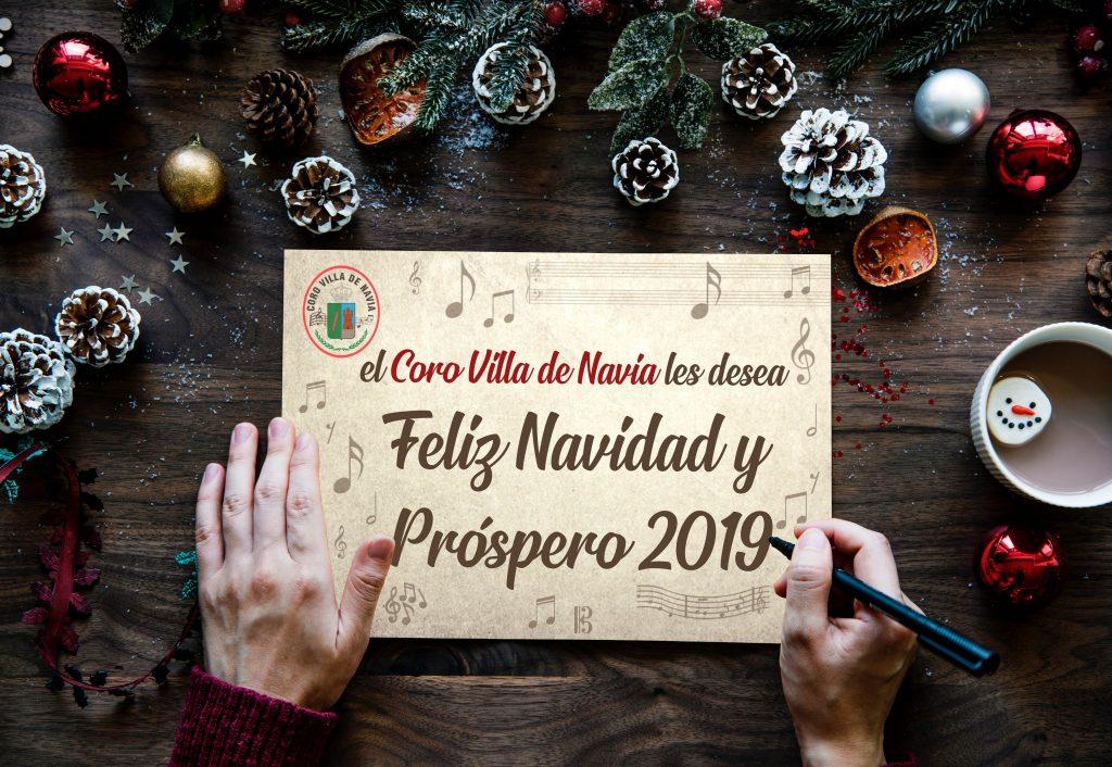 Felicitacion Navidad Coro Villa de Navia 2